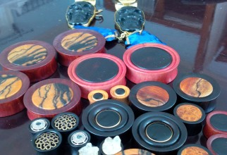 New Wood Plugs! Made Locally in Seattle!