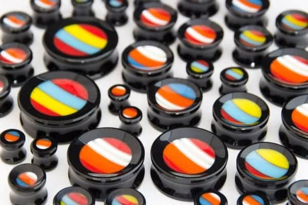 Double Flare Concave Sneaker Plugs